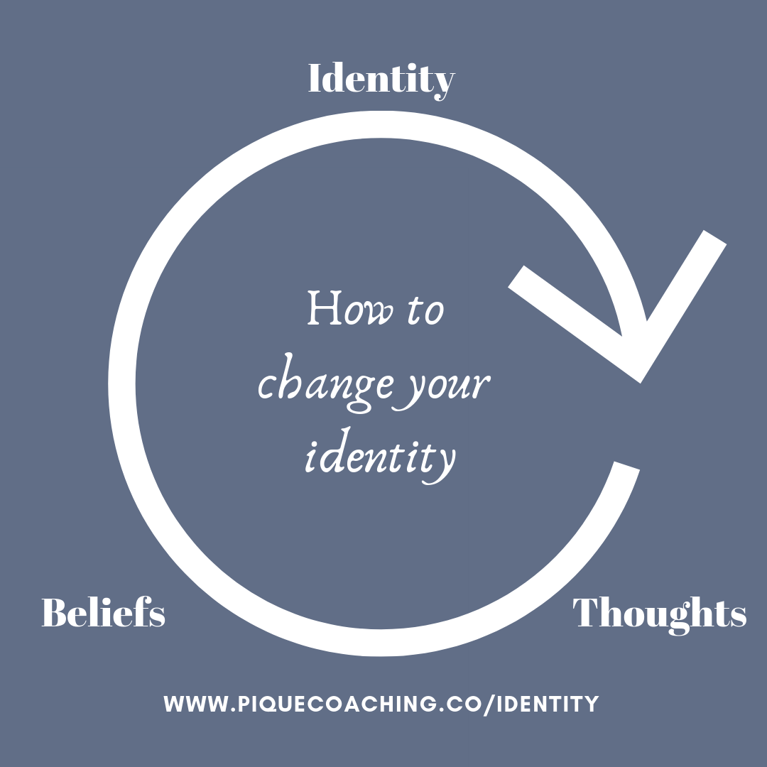 How to change your identity -- thoughts, beliefs, identity