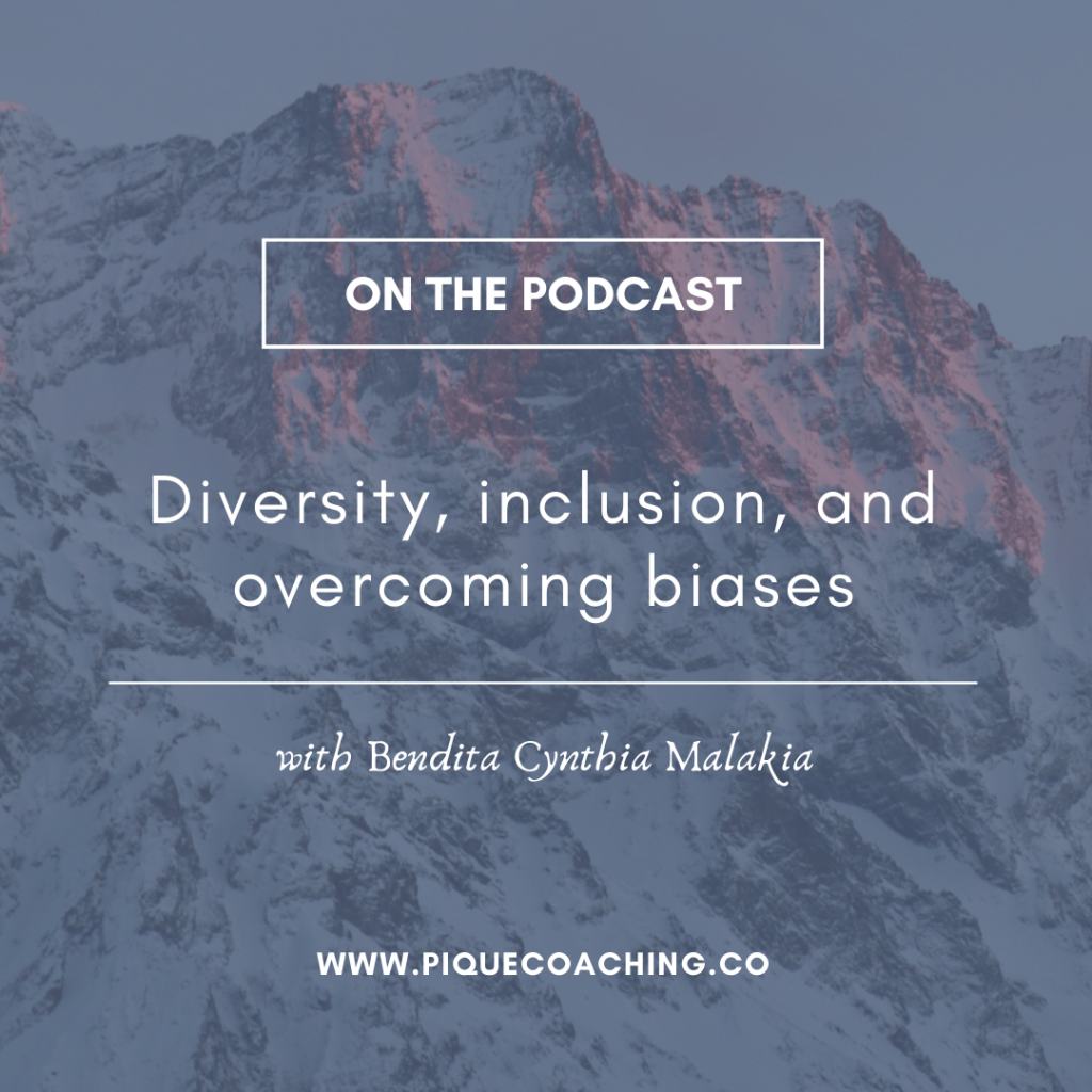Diversity, inclusion, and overcoming biases with Bendita Cynthia Malakia