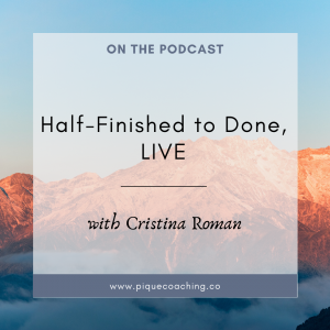 Half-Finished to Done, LIVE